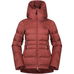 Bergans Stranda Down Hybrid Jacket Women Lounge/Bordeaux